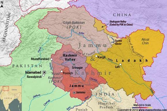 india abolisce autonomia kashmir