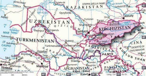 colonialismo cinese kirghizistan
