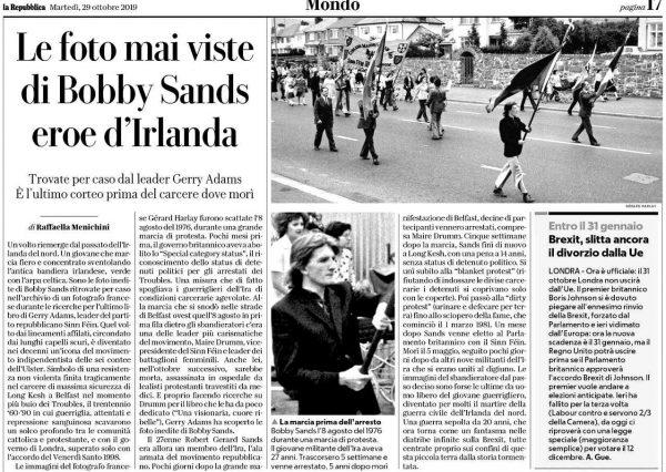 foto mai viste di Bobby Sands