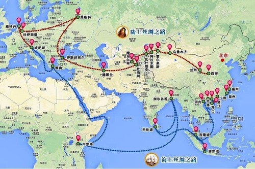 espansione cina in medio oriente
