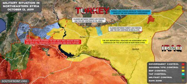 invasione nordest siria
