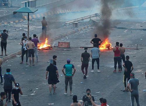 bagdad granate lacrimogene