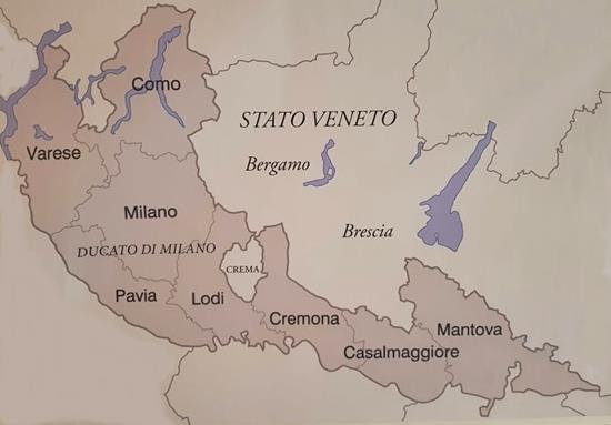 crema veneziana mostra