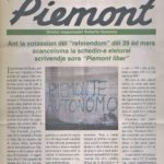 Programma della Union Piemontèisa