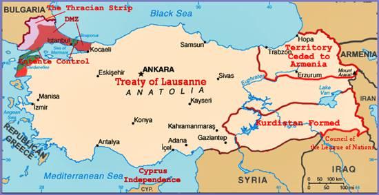 trattato di losanna curdi