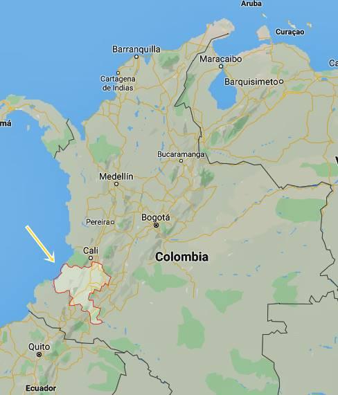 indios colombia repressione