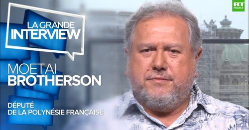 macron in polinesia francese